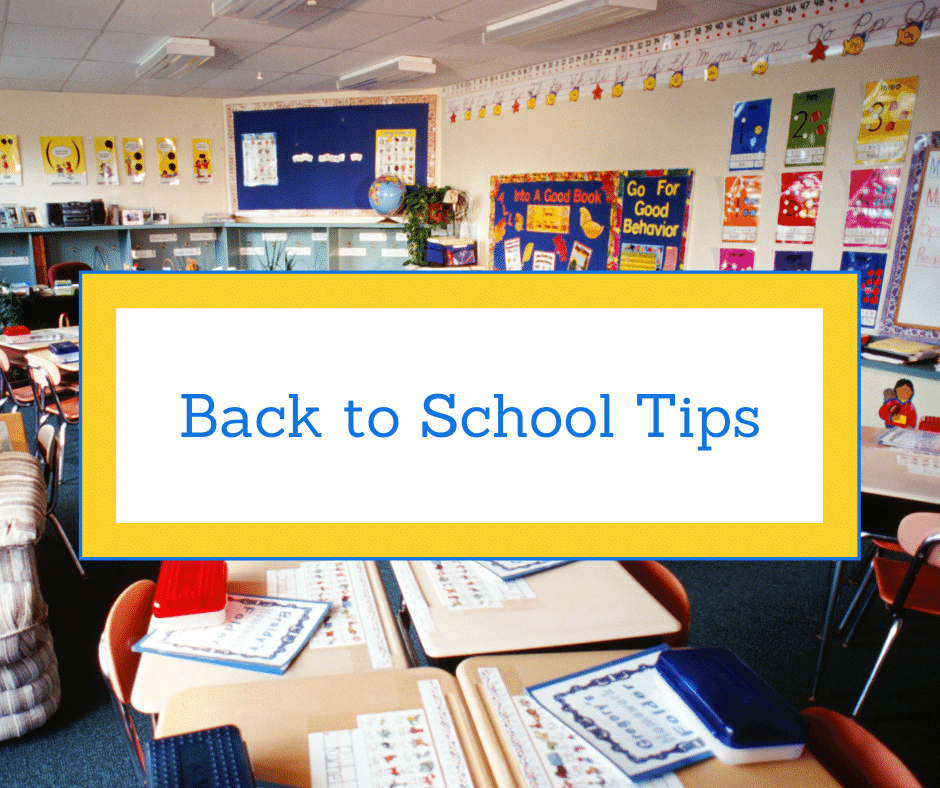 Back to School Tips - Steps into Spain
